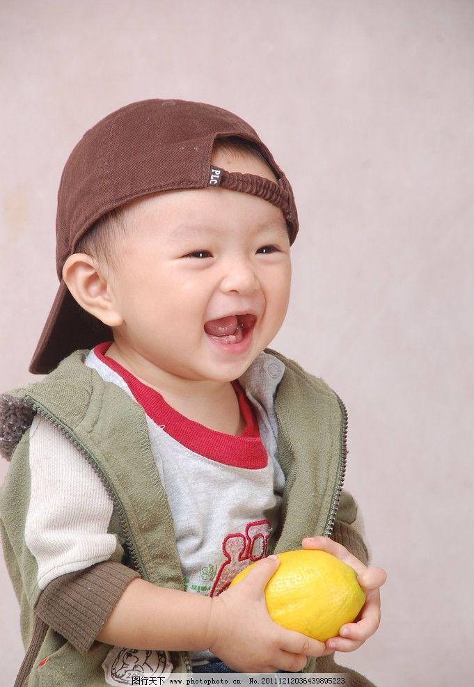 婴幼儿可爱儿童笑脸图片