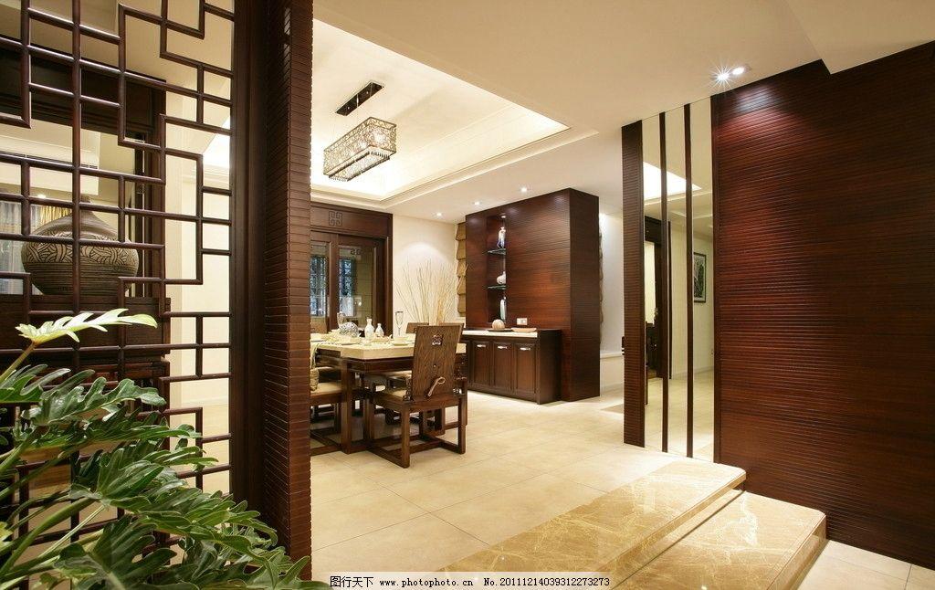 餐厅 餐桌 建筑 室内 房间 壁灯 壁纸 镜子 台灯 沙发 桌子图片
