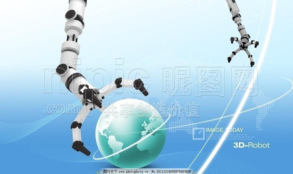 源文件 机器素材下载 机器模板下载 机器 机械 智能手 机械手 机器手