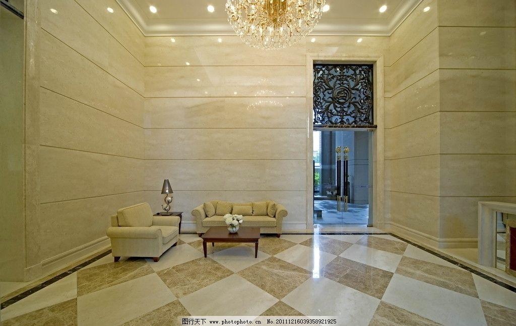 大堂 大厅 华丽 建筑 室内 欧式 房间 家居 家具 窗户 窗帘