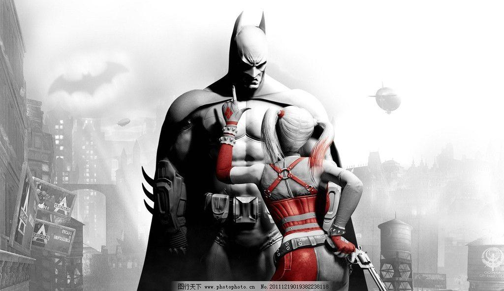 蝙蝠侠 猫女 阿甘疯人院 游戏 壁纸 电影 影视娱乐 文化艺术 设计 96