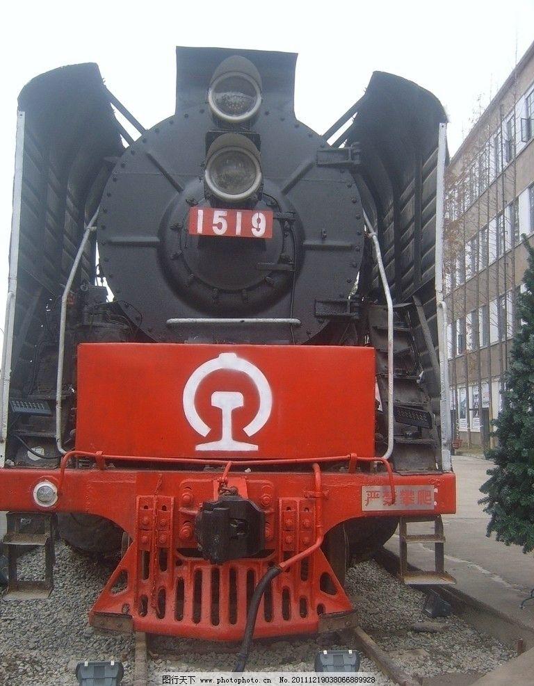 老式火车头图片