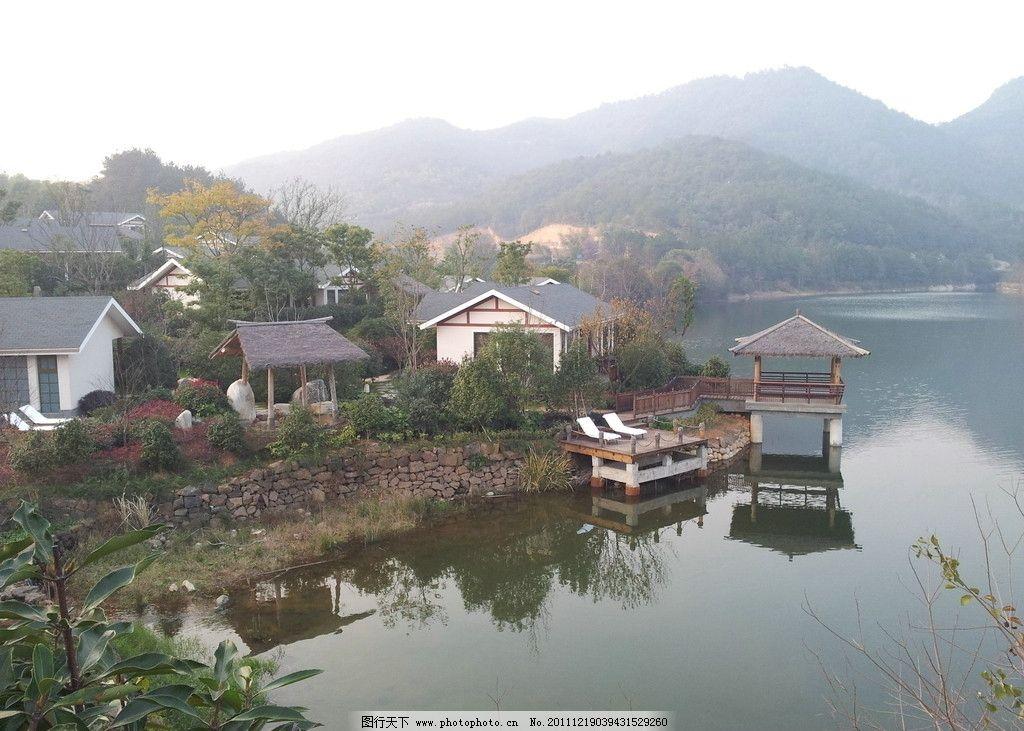 温泉别墅图片