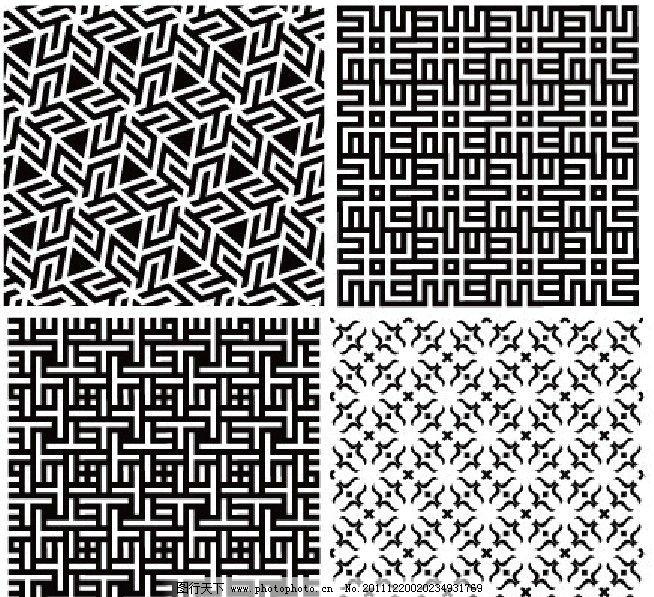 欧式几何图片_背景底纹
