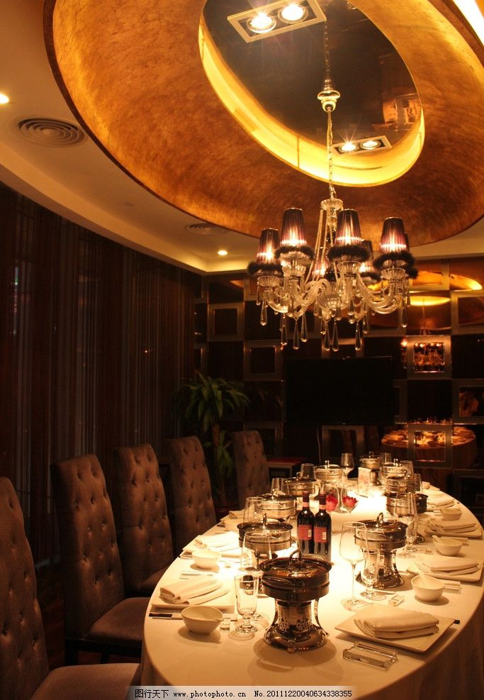 鼎鼎香 火锅 室内装饰 装修 华丽 欧式宫廷 涮涮锅 餐具厨具 餐饮美食