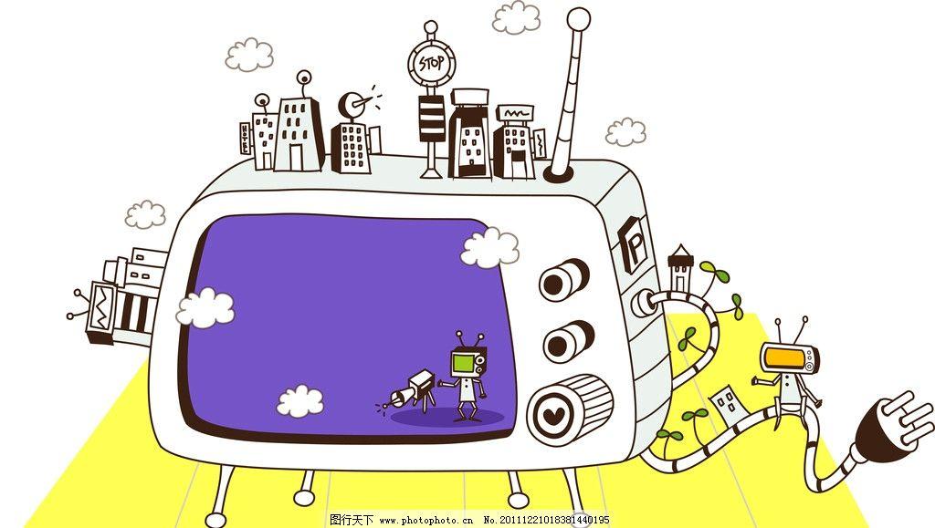 科技小制作画与房子