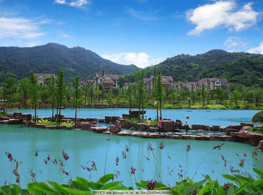 生态园风景图片