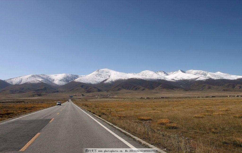 风景名胜  高原公路(非高清) 雪山 高原 高原公路 青藏公路 青海 西藏