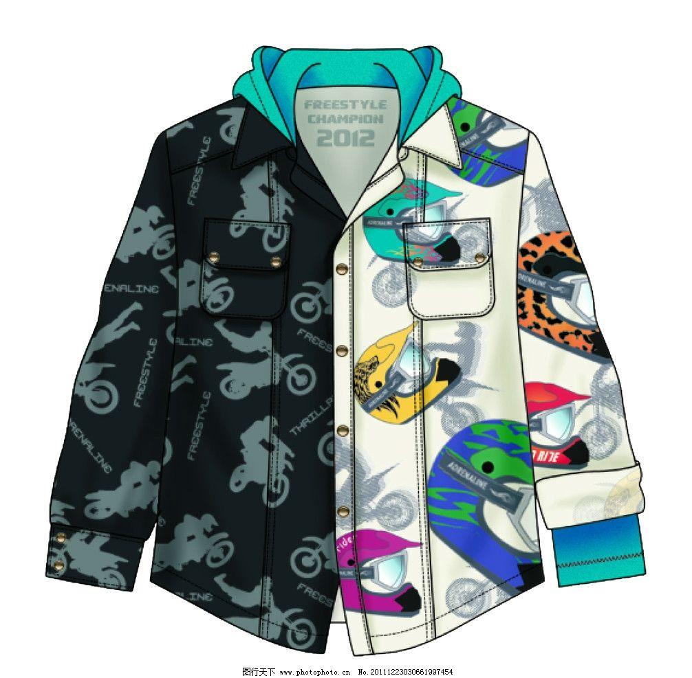 衬衫 服装设计 服装款式图 款式图 ai 版型 童装 矢量 t恤 卫衣 服装