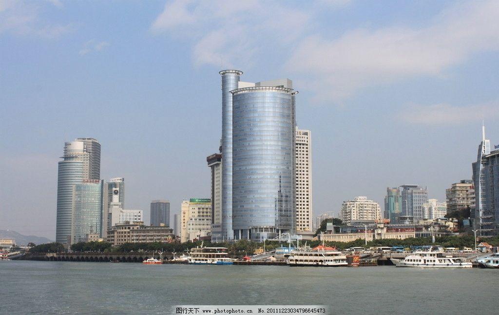 厦门风光 高楼大厦图片