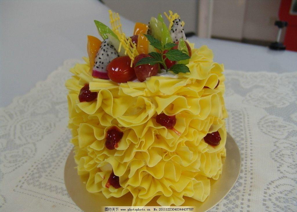 巧克力 水果蛋糕