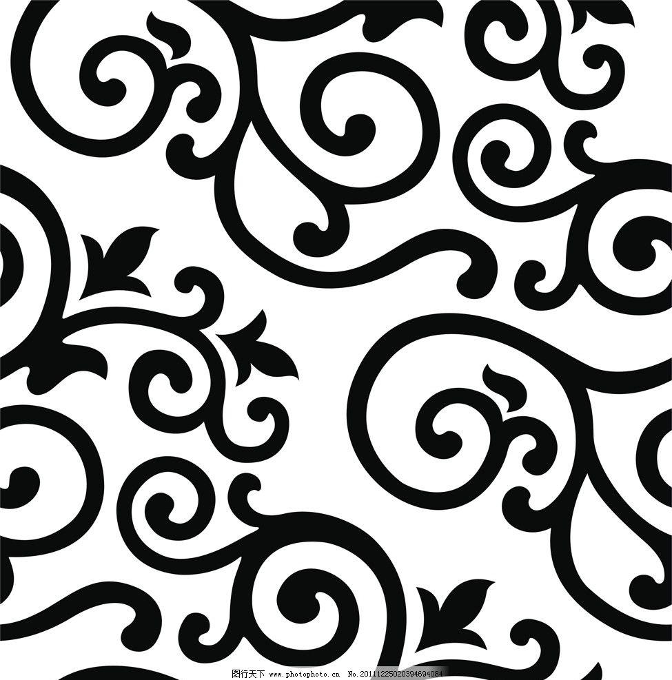 自由排列 无缝贴图 无限延长 经典花纹 花纹花边 底纹边框 矢量 cdr图片
