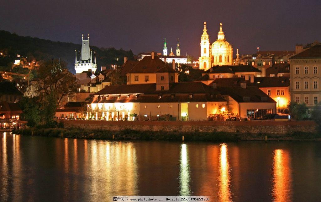 度假山庄 夜景 夜晚 灯光 温馨 浪漫法国 温馨背景 催促酒店