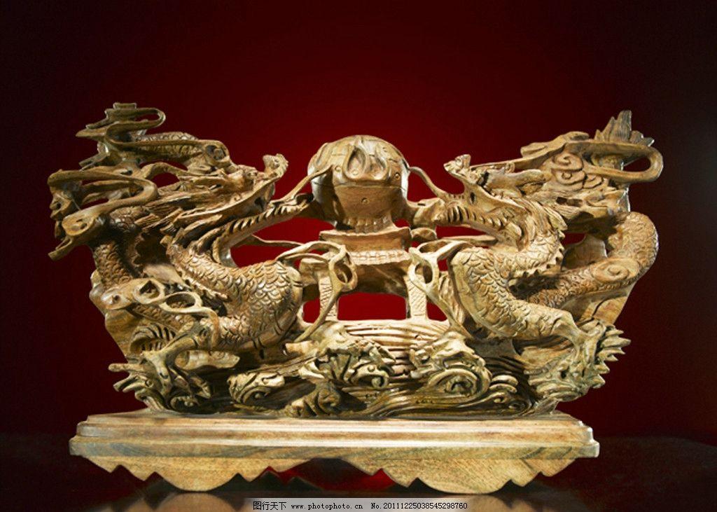 中国传统木雕工艺品图片