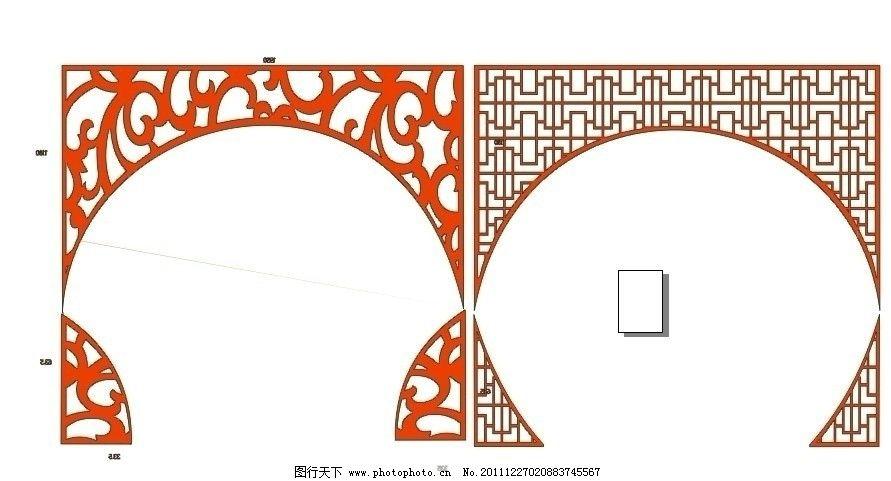 雕花 拱形门图片图片