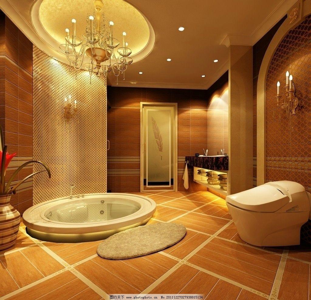 浴室设计 浴室 木地板 室内设计 卫浴 环境设计 设计 72dpi jpg