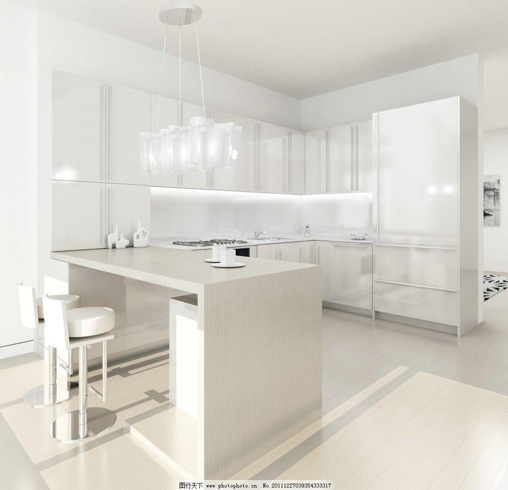 室内装修图片,厨房 风格 欧式 白色 简约 室内摄影-图