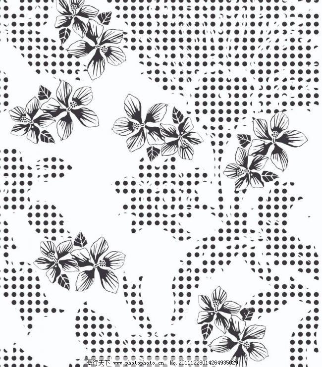 面料印花 花纹 布纹 刺绣 动物 动物图案 二方连续图 服饰 服饰图案