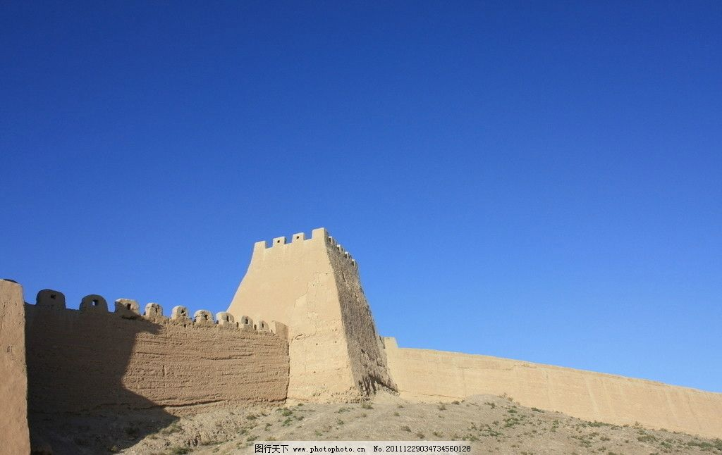 长城 嘉峪关 丝绸之路 城墙 建筑景观 摄影