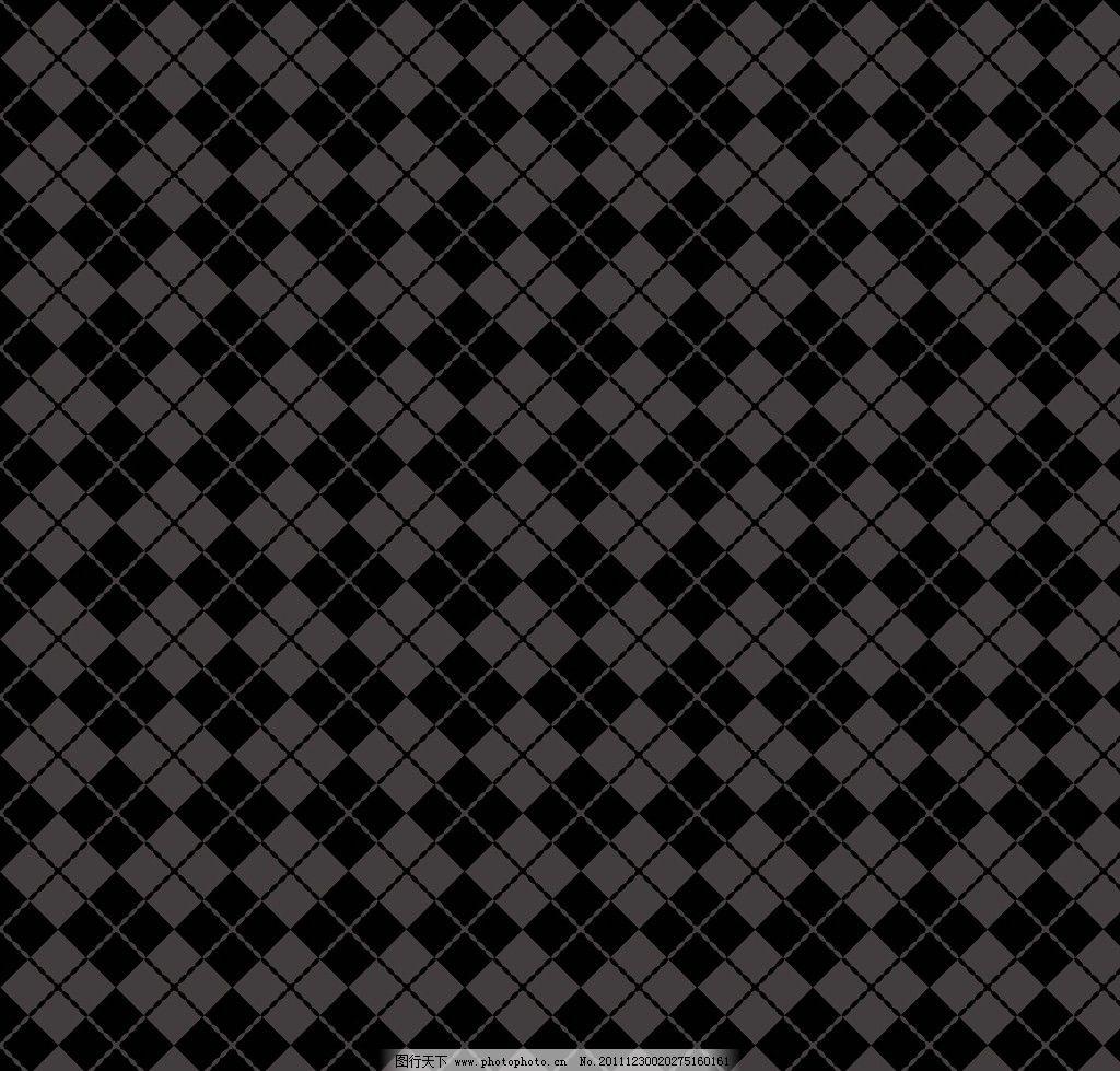 黑色菱形格 格子 底纹背景 底纹边框 矢量