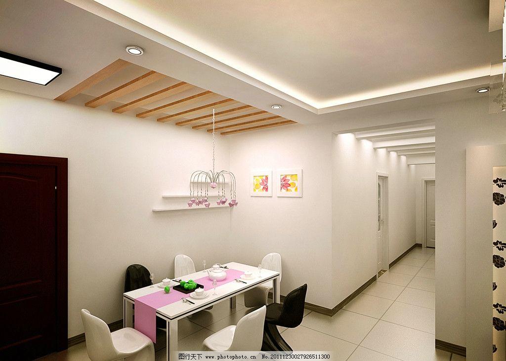 餐厅简装        餐厅 室内设计 桌子 椅子 环境设计 设计 72dpi jpg