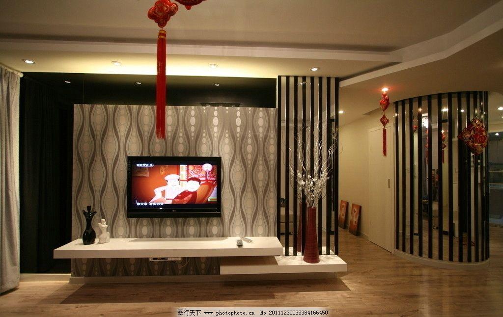 室内客厅结构空间壁纸大全