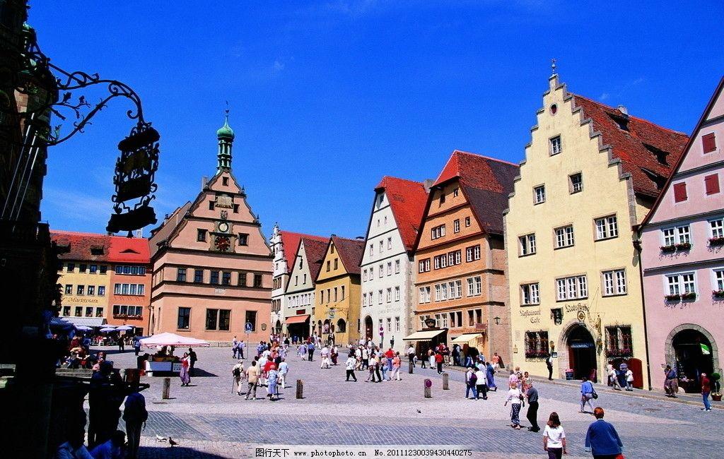 欧洲小镇 欧洲 北欧 德国 小镇 欧式建筑 欧洲街道 街道 房子 欧式