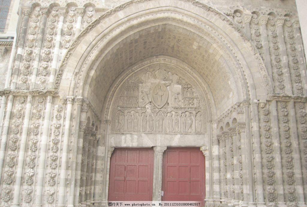 教堂 门头 欧式门头 欧洲 英国 欧式门 雕花 花纹 雕刻 石雕 城堡 古