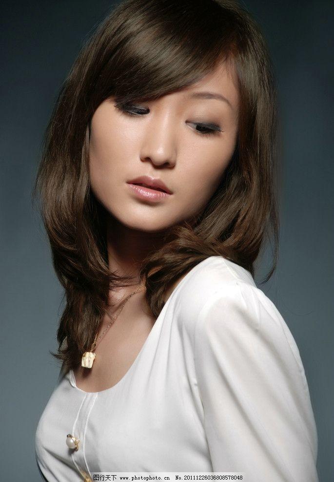 时尚女性发型素材图片_女性妇女_人物图库_图行天下图库